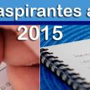 Folios de aspirantes aceptados 2015