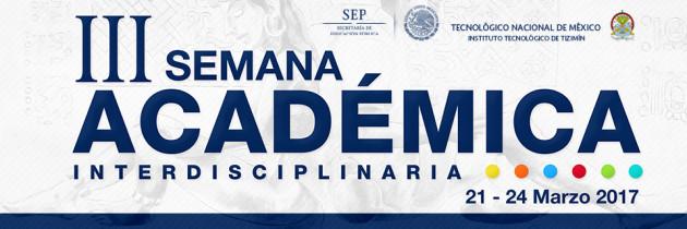 III Semana Académica Interdisciplinaria (SAI)