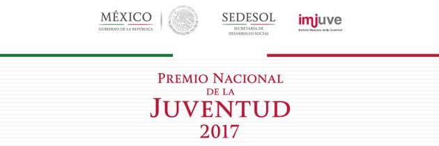 Premio Nacional de la Juventud 2017