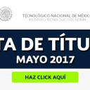 Lista de Títulos Mayo 2017