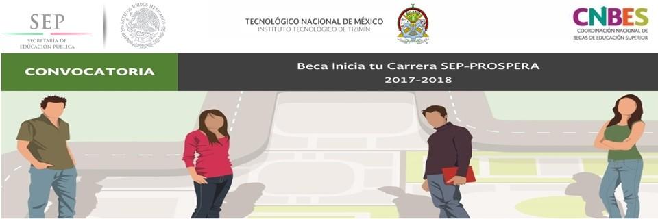 Beca Sep -Prospera 2017-2018
