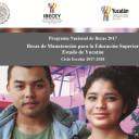 Convocatoria Beca Manutención 2017-2018