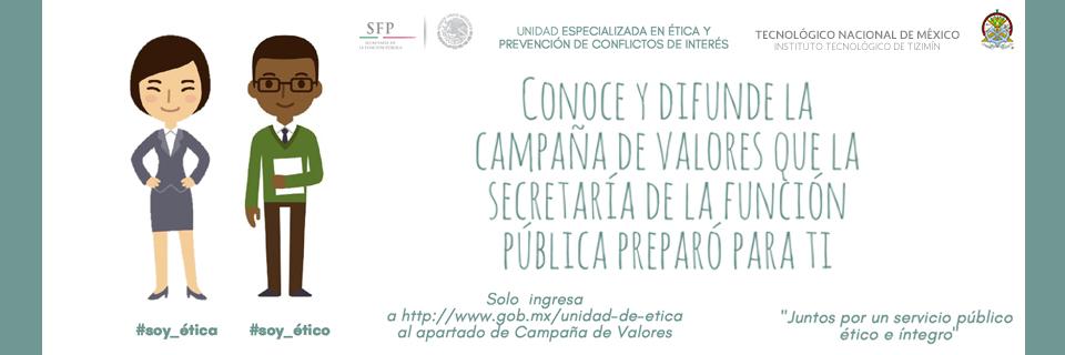 campaña valores