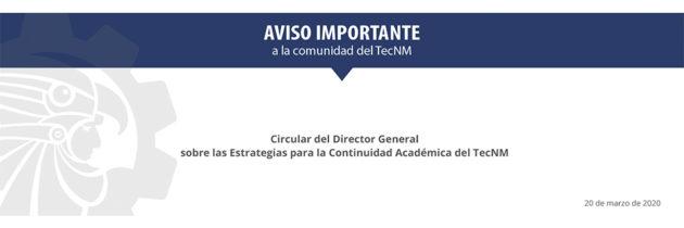 Comunicado Director General