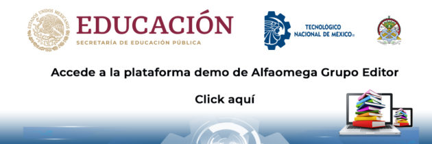 Plataforma demo de Alfaomega Grupo Editor