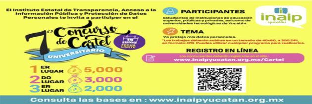 Concurso de cartel universitario INAIP