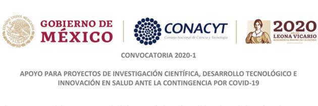 APOYO PARA PROYECTOS DE INVESTIGACIÓN ANTE LA CONTINGENCIA POR COVID-19