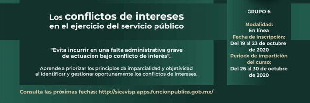 Los conflictos de intereses en el ejercicio del servicio publico