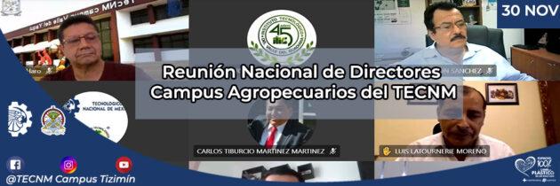 Reunión Nacional de Directores Campus Agropecuarios