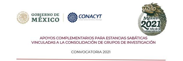 Convocatoria 2021 Estancias Sabáticas