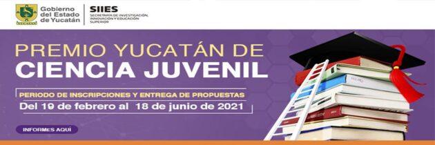 PREMIO YUCATÁN DE CIENCIA JUVENIL