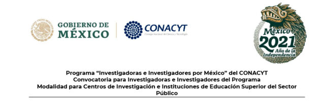 Programa Investigadoras e Investigadores por México del CONACYT