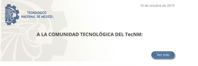 TecNM Comunica