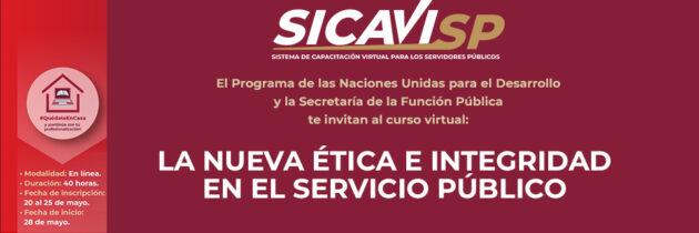 Curso La Nueva Ética e Integridad en el Servicio Público