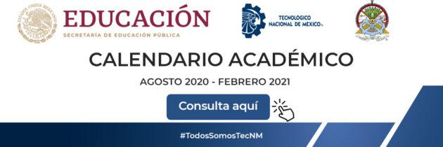 Calendario Académico TecNM Campus Tizimín