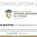 Beca Jovenes Construyendo el futuro 2020