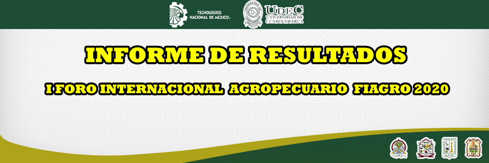 Resultados Foro Agropecuario