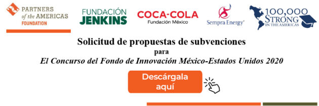 Concurso del Fondo de Innovación México-Estados Unidos 2020