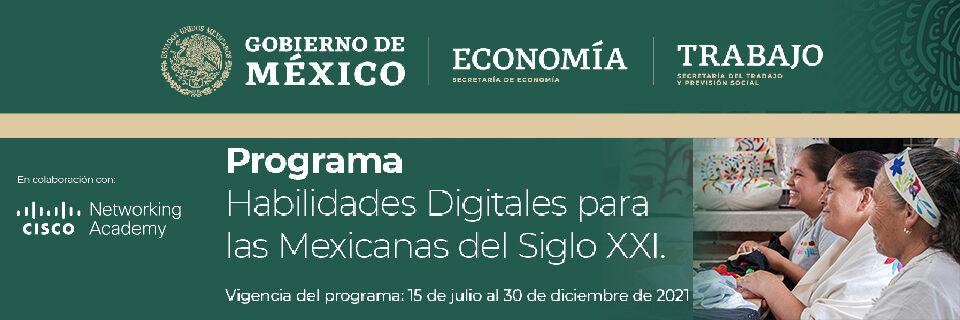 Habilidades Digitales para las Mexicanas del Siglo XXI