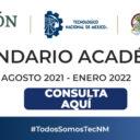 Calendario Académico 2021-2022