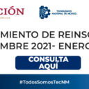 Procedimiento de reinscripción 2021-2022